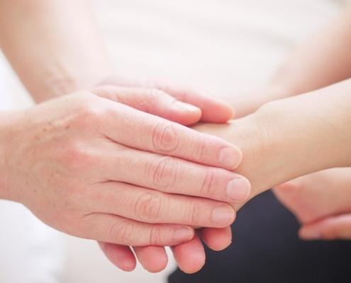 hand to hand healing