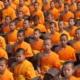Boudhism gathering prayer